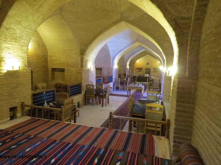 هتل سنتی - رباط شاه عباسی کوهپایه