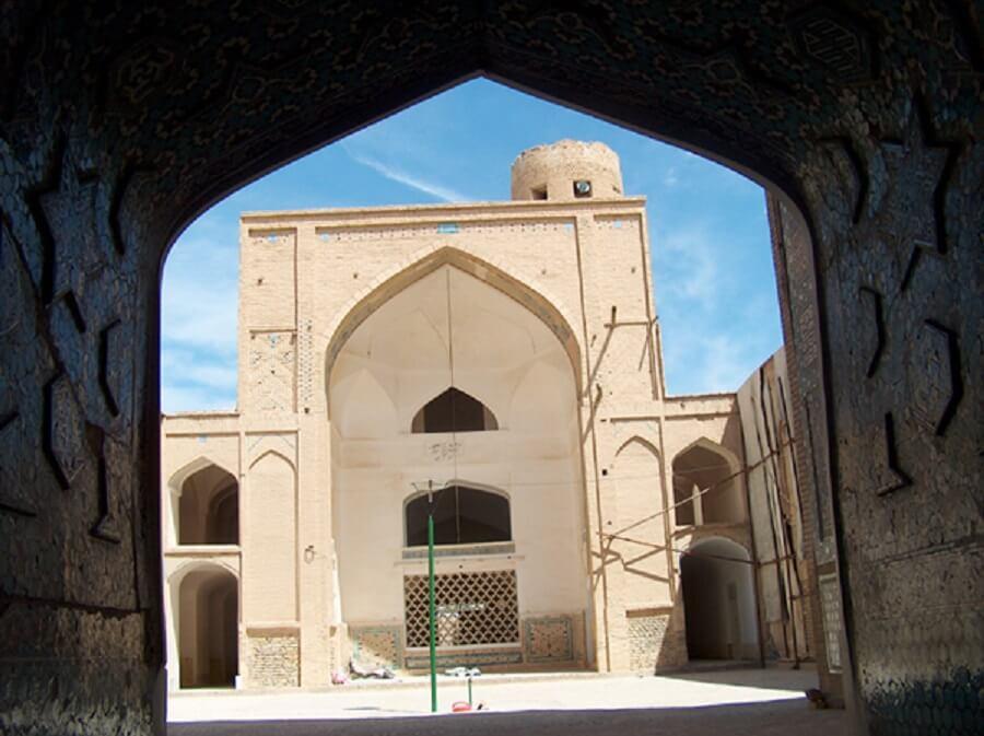 masjed jame 23 - مسجد جامع ورزنه