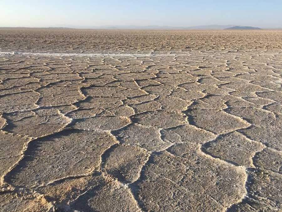 varzaneh salt Lake 2 - دریاچه نمک